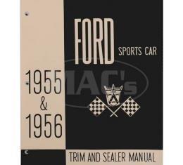 Trim and Sealer Manual, 1955-1956