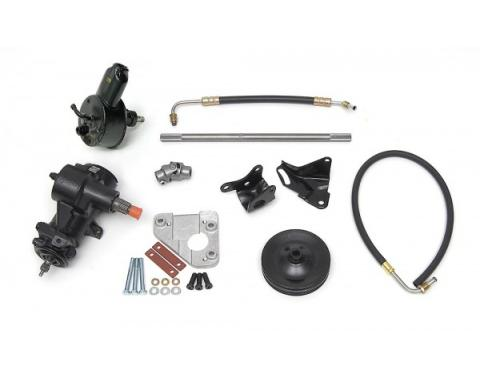 Full Size Chevy 348 & 409ci 605 Power Steering Conversion Kit, 1960-1964
