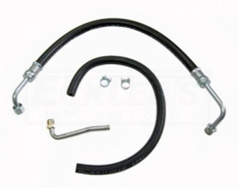 Camaro Power Steering Hose, Kit, All V8, 1967-1968
