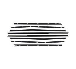 Belt Weatherstrip Kit - Front and Rear Door Windows - 8 Pieces