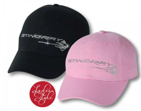 Corvette C7 Stingray Rhinestone Premium Cap