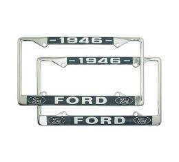 License Plate Frame - 1946 Ford