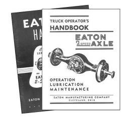 Eaton Axle Handbooks - Set Of 2 Volumes - Large Trucks