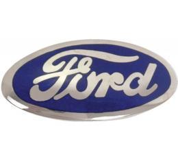 Radiator Emblem - Ford Script - Porcelain - Ford Passenger