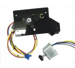 Full Size Chevy Electric Wiper Motor, Replacement, With Delay Switch,1959