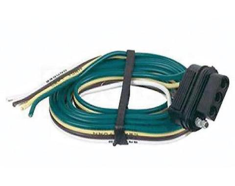 El Camino Vehicle Towing Wiring Connector, 4-Flat, 1959-1987