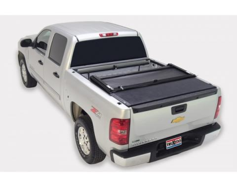Truxedo Deuce Tonneau Bed Cover, Chevy Or GMC Truck, 6.5' Bed, Black, 2007-2013
