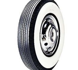 Tire - 670 X 15 - 4-1/4 Whitewall - Tubeless - Goodyear Super Cushion