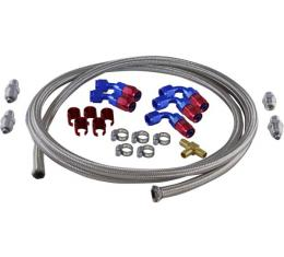 Chevy Hydroboost Hose Kit, For Use With Delphi Steering & Saginaw Pump, 1955-1957