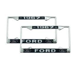 License Plate Frames - 1967 Ford