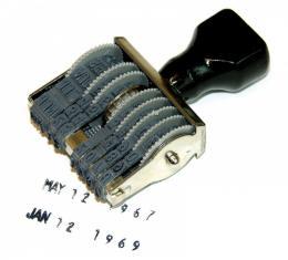 GM Date Stamper, 1955-2008