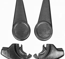 El Camino Bucket Seat Hinge Covers, Set, 1982-1987