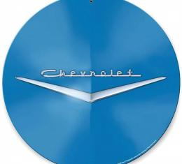 Chevy Metal Sign, Classic ''Chevrolet'' Emblem