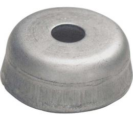 Windshield Post Cup - Large - Lower - Stainless Steel - Ford