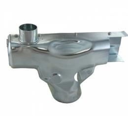 Corvette Exhaust Manifold Pre-Heat Stove Shield Assembly Without A.I.R., 1976-1980