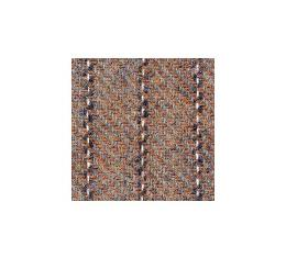 """Upholstery Fabric - Brown With White Stripe Wool - 60"""" Wide- Material Available By The Yard"""