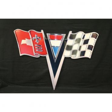 Corvette Metal Sign, 1963-1964