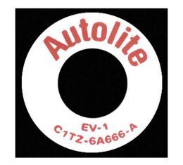 PCV Plastic Ring - EV-45 & DOAZ-6A666-A - 351C, 351W & 429 V8