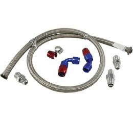 Chevy Hydroboost Hose Kit, With Delphi Steering Box & Type II Pump, 1955-1957