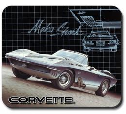 """Corvette """"Mako Shark"""" Mouse Pad"""