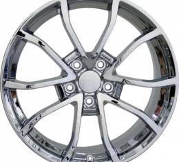Corvette Z06 Cup Wheel, Chrome, 19x10, 1988-2004