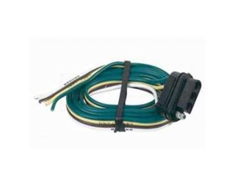 Chevelle Vehicle Wiring Connector, 4-Flat, 1964-1983