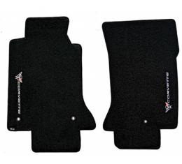 Lloyd Mats Floor Mats With Sideways C5 Logos, Velourtex| Corvette 1997-2004