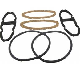 Early Chevy, Tail Light Lens and Gasket Set, 1954