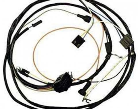 Chevelle Engine Wiring Harness, Big Block, For Cars With Warning Lights, 1967