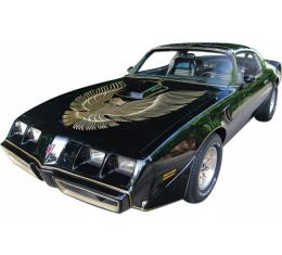 Firebird Ultimate Decal Kit, Dark Gold Trans Am, Turbo, Black, Special Edition, 1981