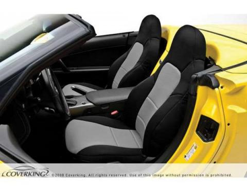 Corvette Coverking Neosupreme Seat Cover, Without Power Passenger Seat, 1999-2000 Hardtop