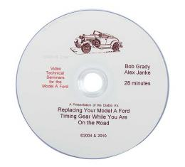 Model A Technical Help DVD - Replacing A Timing Gear - 28 Minutes