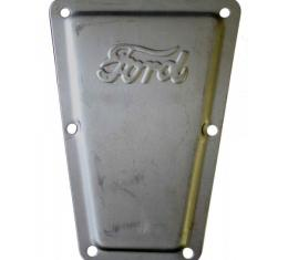 Transmission Cover Plate With ''Ford'' Script Only, Model T, 1919-1927