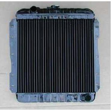 Full Size Chevy Radiator, For Cars With Manual Transmission, 6-Cylinder, 1958
