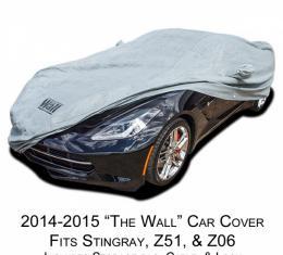 "Corvette Car Cover, ""The Wall"", Gray, 1953-2017 | 1991-1996"