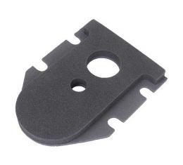 Steering Tube Seal - Below Floor Mat - Sponge Rubber - FordPassenger