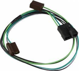 Lectric Limited Front Speaker Wiring Harness, Monaural, Show Quality  VRR7700MN Corvette 1977