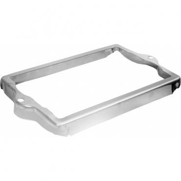 Chevy Truck Battery Hold Down, Stainless Steel, Polished, 1955 (2nd Series)-1957