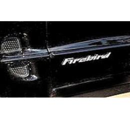 Firebird, Decal, Raised Door Letters 1998-2002