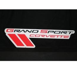 Corvette Metal Sign, Grand Sport, C6