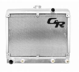 1962-1969 Radiator,Downflow,Engine Transmission Oil Cooler, C&R Racing