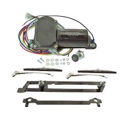 Complete Electric Wiper System - 12 Volt - Passenger - FordSedan, Ford Coupe & Ford Sedan Delivery Only