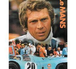 Steve McQueen Le Mans Reprint Poster