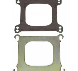 Chevy II Or Nova Intake Manifold To Carburetor Adapter Plate, Edelbrock, 1970-1979