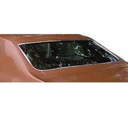 Chevelle Back Glass, 4-Door Sports Sedan, 1968-1972
