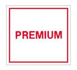 Gas Door Decal - Premium Fuel