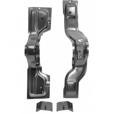 Nova And Chevy II Seat Mounting Bracket Set, 1966-1967