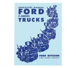 Ford Truck Operator's Manual - 96 Pages