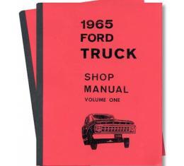 Truck Shop Manual - 2 Volume Set - 1500 Pages