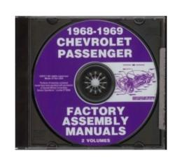 Chevy Factory Assembly Manual Sets, PDF CD-ROM 1958-1969